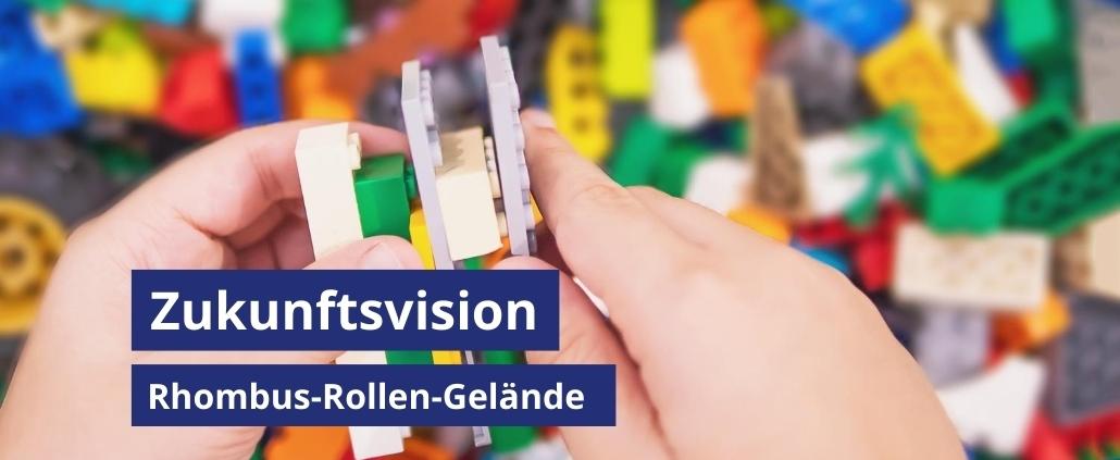 Vision Rhombus-Rollen Gelände
